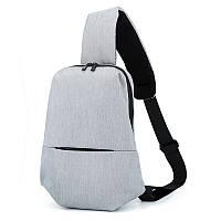 Сумка рюкзак Picano светло серая, фото 1