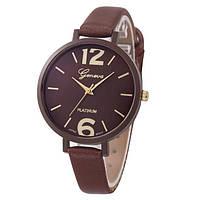Женские наручные часы Geneva, Коричневый