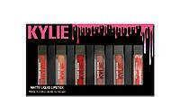 Помада Kylie Matte liquid Lipstick Rouge a Levres, 6 шт