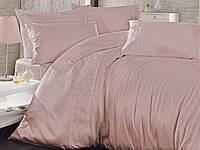 Комплект постельного белья Nazenin Wedding Satin Series  евро