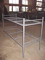 Кровать двухъярусная металлическая Бюджет