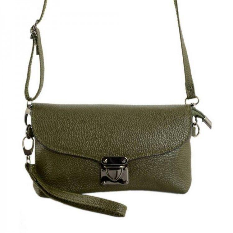 0fee01e4c38b Женская сумка кросс-боди цвета хаки Traum арт. 7210-78, цена 270 грн ...