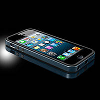 Чехол-Бампер SGP Neo Hybrid EX Slim Metal for iPhone 5/5S Metal Slate (SGP10037)