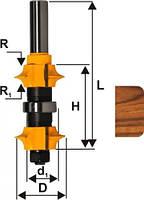 Фреза кромочная калевочная регулируемая ф22, хв.12мм (арт.10696)