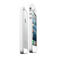 Чехол-Бампер SGP Neo Hybrid EX Slim Snow for iPhone 5/5S Infinity White (SGP10032)