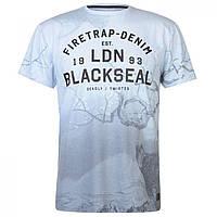 Футболка Firetrap Blackseal Eagle Blue - Оригинал e95b8a7e1bcac