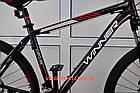 """Горный велосипед Winner Impulse 27.5 дюймов 19"""" черный, фото 3"""