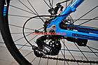 """Горный велосипед Winner Impulse 29 дюймов 20"""" синий, фото 10"""