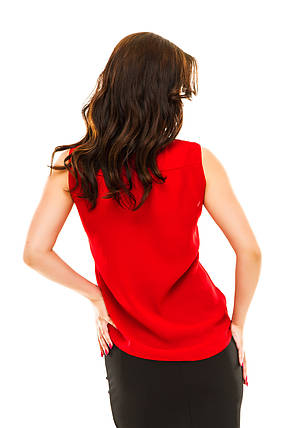 Блузка 210 красная размер 48, фото 2