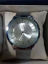 Наручные часы реплика Calvin Klein, Кельвин Кляйн, CK цвет серебро