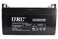 Гелевый аккумулятор питания UKC Battery 12V, 120A, аккумуляторы UKC Battery, батареи UKC Battery, аккумуляторные батареи