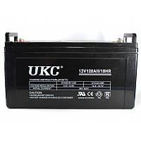 Аккумулятор UKC Battery гелиевый 12V, 150A, 14.4 – 15 В, работа до 8 лет, аккумуляторы UKC 12V, аккумуляторные батареи 12V