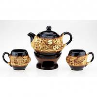 Набор чайный с камином колорит