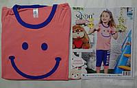 Комплект футболка и бриджидля девочки Sexen