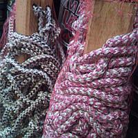 Гамак веревочный на деревянной перекладине 1.30х2м