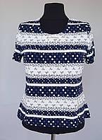 Блузка летняя в горошек