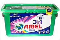 Гель-капсулы для стирки Ariel 3 in 1 Color 42 шт. для цветного белья, фото 1