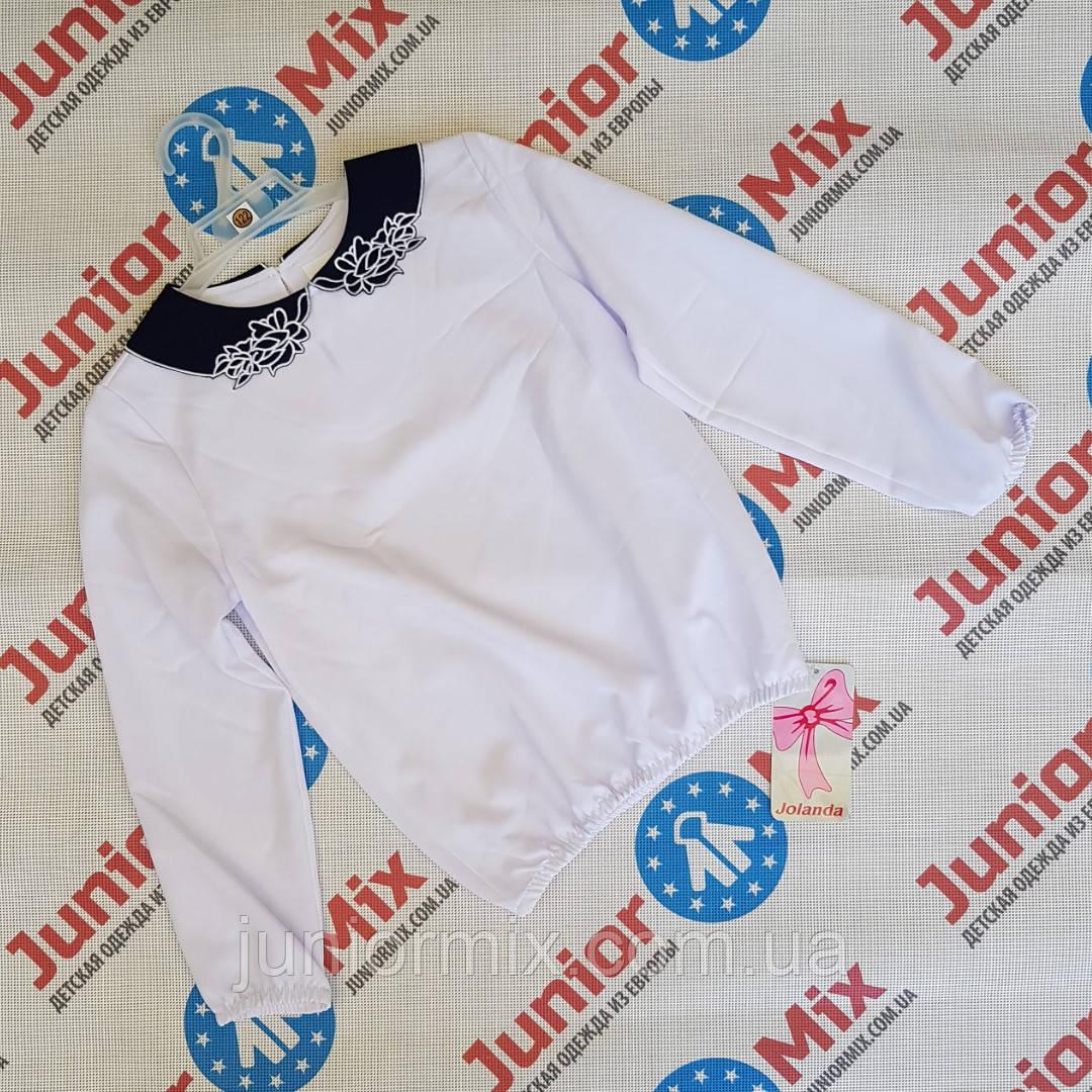 Польские школьные детские блузки для девочек оптом Jlanda