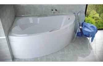 Ванна акриловая ADA (140х90) без панели и ножек / с отверстиями под ручки