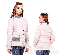 Куртка короткая женская демисезонная