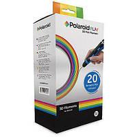 Набір пластику для 3D-ручки Polaroid PLA Play и Fast Play 20 кольорів (3D-FP-PL-2500-00)