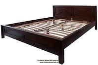 Кровати двухспальные из дерева (ольха дуб ясень)