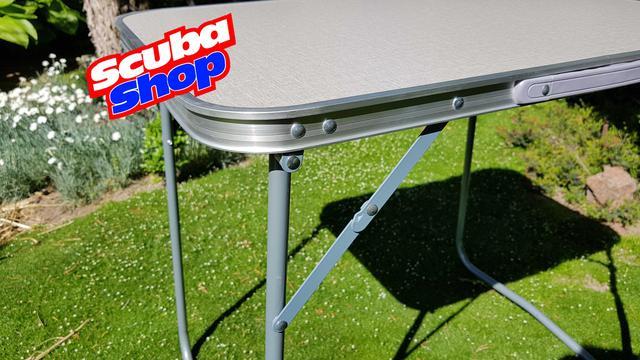 Стол раскладной для пикника 50*70 см (столешница фибралит, нагрузка до 30 кг)