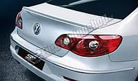 Лип-Спойлер кромки багажника (Сабля)  Volkswagen Passat CC