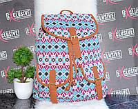 Яркий пляжный тканевый рюкзак, фото 1