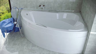 Ванна акриловая ADA (160х100) без панели и ножек / с отверстиями под ручки
