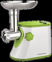 Мясорубка электрическая  LIBERTON LMG-16T+ соковыжималка.