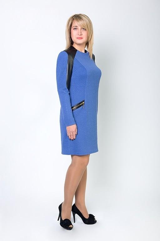 Женское платье прямого покроя оптом