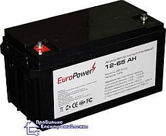 Мультигелева акумуляторна батарея EuroPower 12-65 Аh