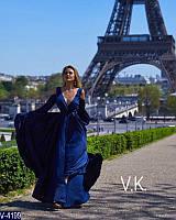 Вечернее платье V-4199 (46, 48, 50, 52, 54) — купить Вечерние платья XL+ оптом и в розницу в одессе 7км