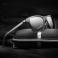 Очки поляризационные Veithdia 6108 Black-S + футляр