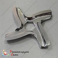 Нож для мясорубки Мулинекс HV2, HV3, HV4, HV6, HV8 с шестигранником