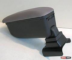 Подлокотник Opel Astra G 2004-2012 Botec серый текстильный
