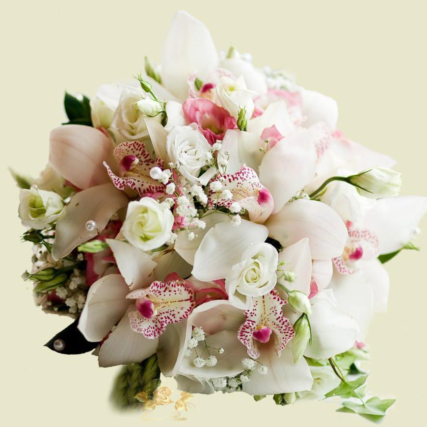 Свадебные букеты заказ харькове, чайно-кремовых роз букеты
