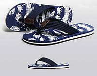 Мужские шлепки для пляжа Gailang Navy  лот SH006