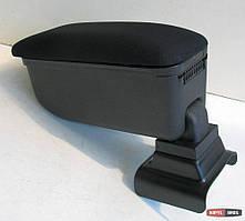 Подлокотник Opel Astra G 2004-2012 Botec черный текстильный