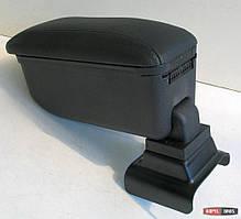 Подлокотник Opel Astra G 2004-2012 Botec черный виниловый