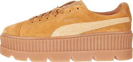Женские кроссовки Rihanna x Puma Fenty Cleated Creeper (рианна x пума фенти  розовые, на f96d8478f22