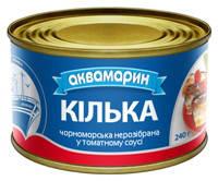 """Килька в т/с """"Аквамарин"""" 230г/36шт/"""
