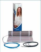 Теплый пол с тефлоновой изоляцией двужильный экранированный DEVImat 150Т (DTIF-150)