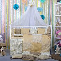 Комплект детского постельного белья в кроватку Плюш ТМ Bepino