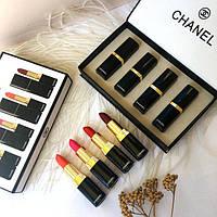 Набор губных помад Chanel 4 шт.(Реплика), фото 1