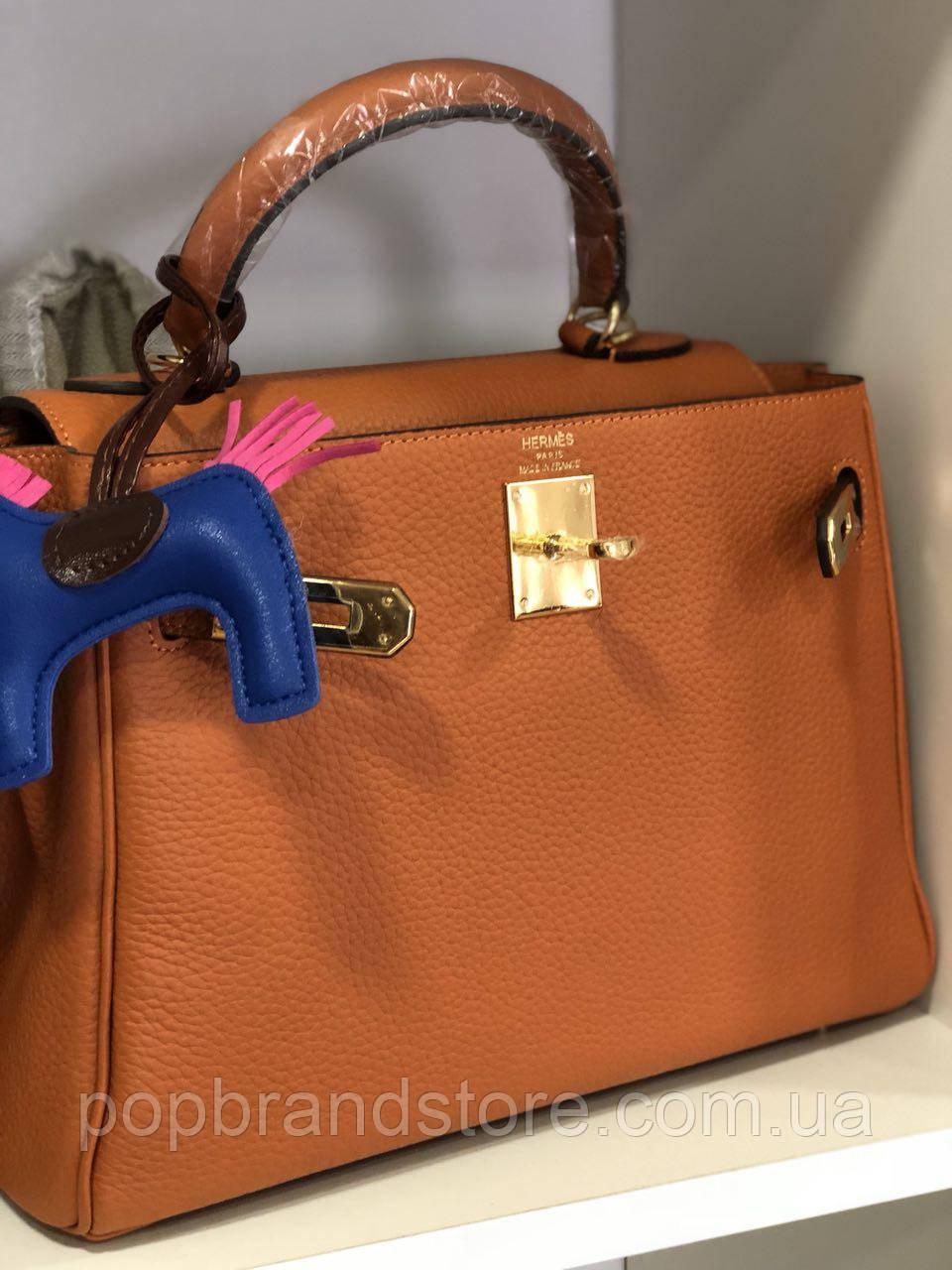 b4393d81feda Женская сумка Гермес Келли 28 см натуральная кожа (реплика): продажа ...
