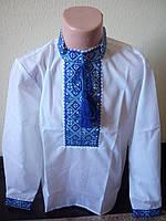 Детская рубашка вышиванка для мальчика 116-152