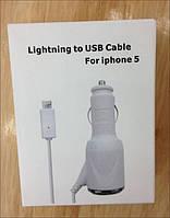 Автомобильное зарядное устройство для iPhone 5