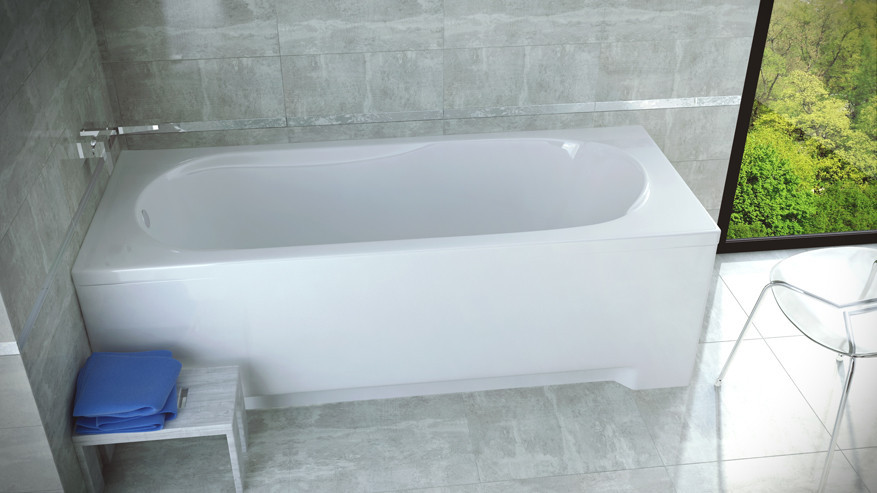 Ванна акриловая BONA соло (140х70) без ножек